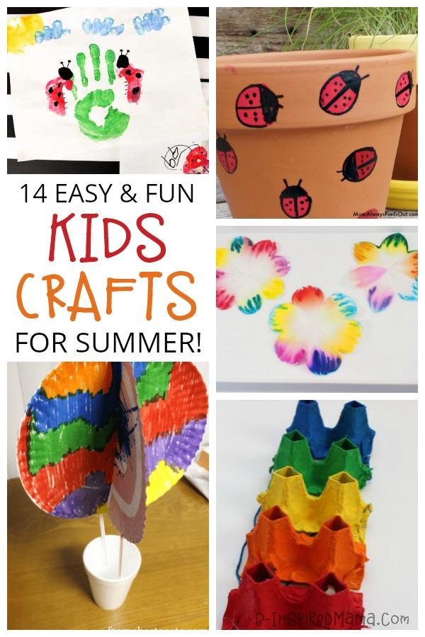14 easy crafts for