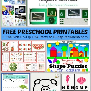 Free Preschool Worksheets and Printables