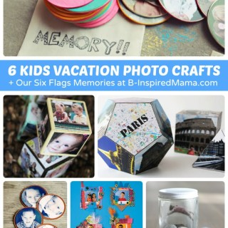 Our Six Flags Fun + Vacation Photo Crafts for Kids