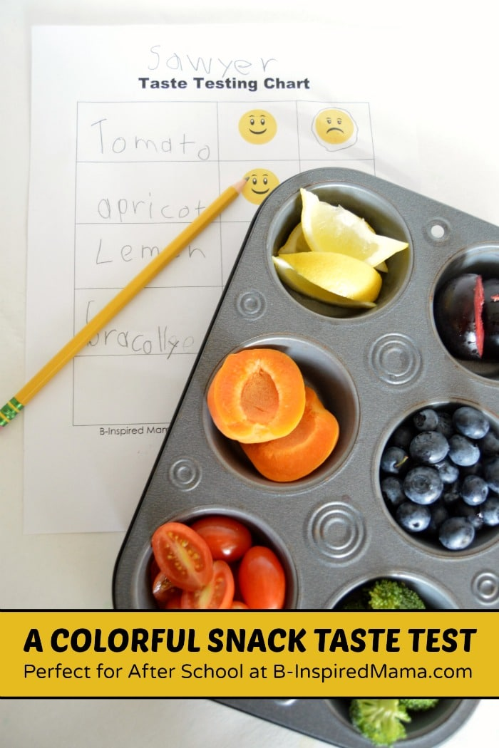 A Healthy and Colorful Snack Taste Test #Sponsored by #HorizonB2S at B-Inspired Mama