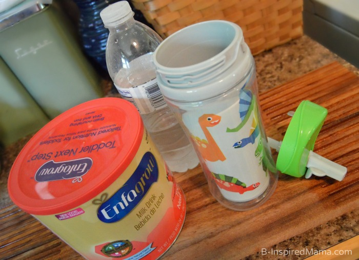 Mixing Up Some Enfagrow for my Toddler Picky Eater - AD #Enfagrow B-Inspired Mama