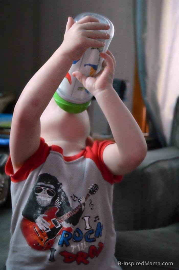 My Toddler Picky Eater Loving His Enfagrow - AD #Enfagrow B-Inspired Mama