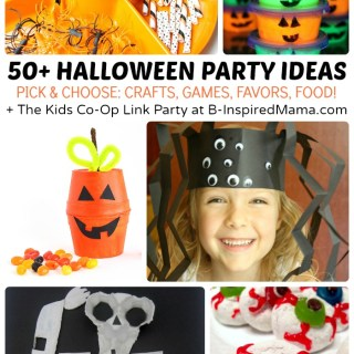 50+ Kids Halloween Party Ideas