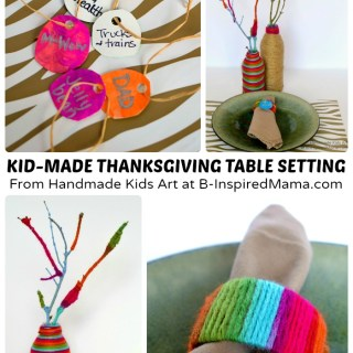 Thanksgiving Crafts for Kids – A DIY Table Setting