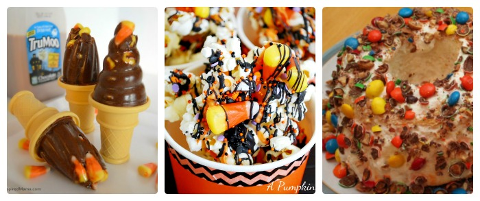 What to Do With Leftover Halloween Candy - Yummy Recipes + The Kids Co-Op Link Party at B-Inspired Mama