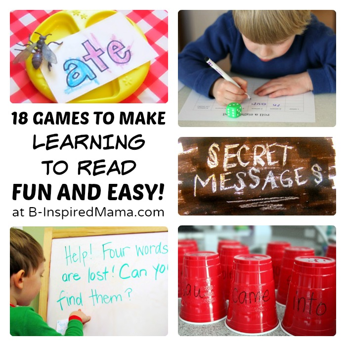 18 Kids Reading Games and Activities [Sponsored by Rosetta Kids Reading #RSKids #MC] at B-Inspired Mama