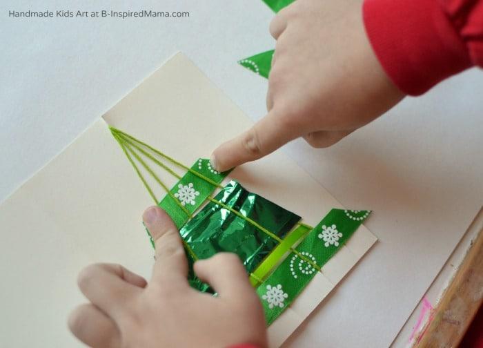 Christmas Tree Homemade Christmas Card Two Ways B