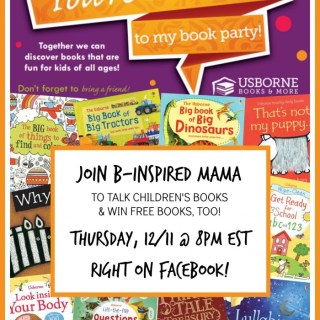Sharing AWESOME Children's Books with a Facebook Kick-Off Party!