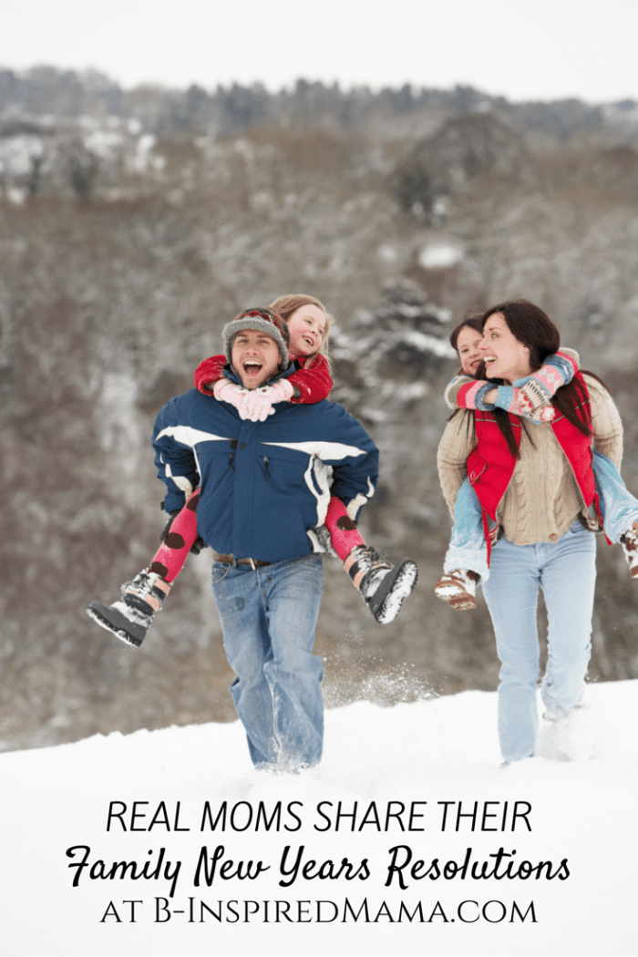 10 New Years Resolutions for Families