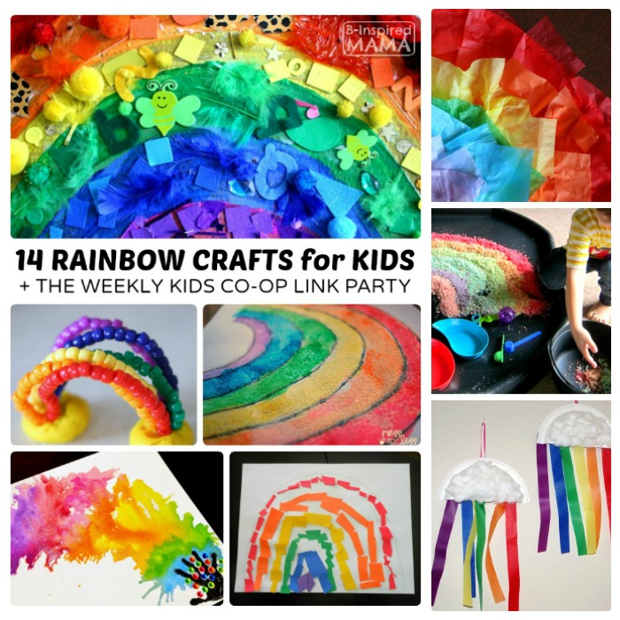 Colorful Rainbow Crafts for Kids