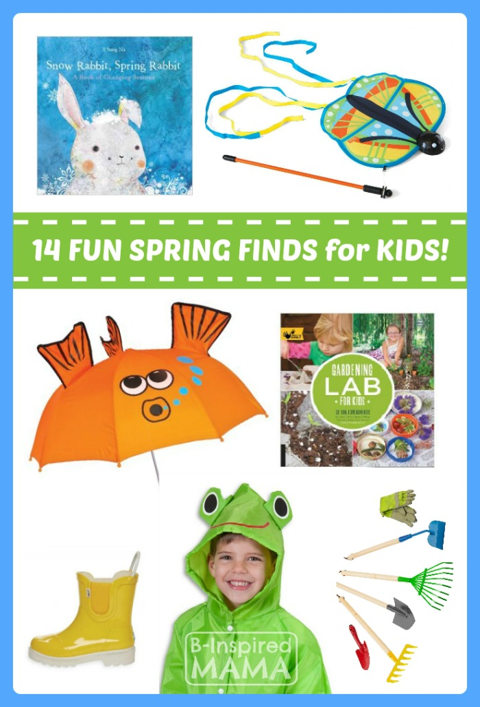 Fun Finds for Kids Spring Play and Learning