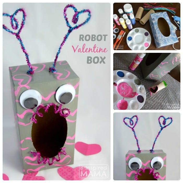 Robot Valentine Box Craft