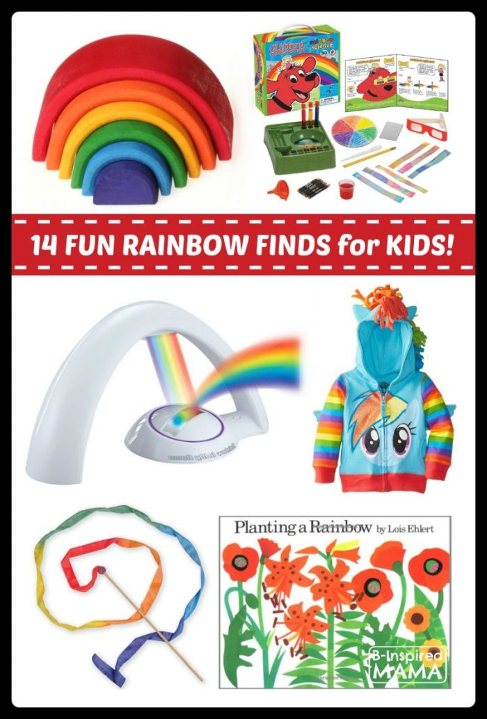 Fun Finds for Rainbow Play and Learning