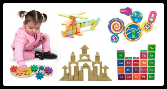 24 of The BEST STEM Toys for Kids - Blocks and Gears at Fun Finds Friday - B-Inspired Mama
