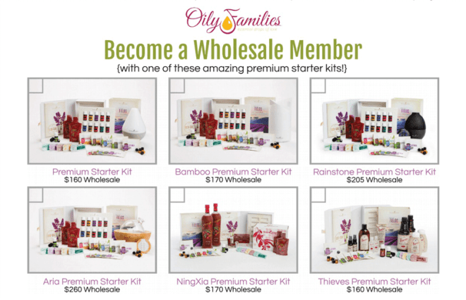 Young Living Starter Kit Comparison