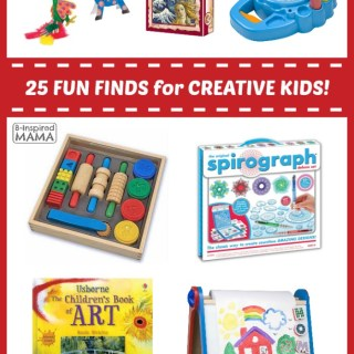 25 Fun Finds for Creative Kids