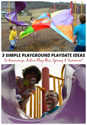 3 Simple Playground Playdate Ideas with Gymboree and B-Inspired Mama
