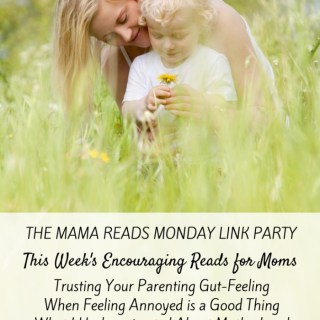 Mama Reads Monday – Gut-Feelings, Depression, & MORE!