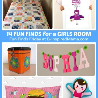 15 Fun Finds – Awesome Girls Room Ideas