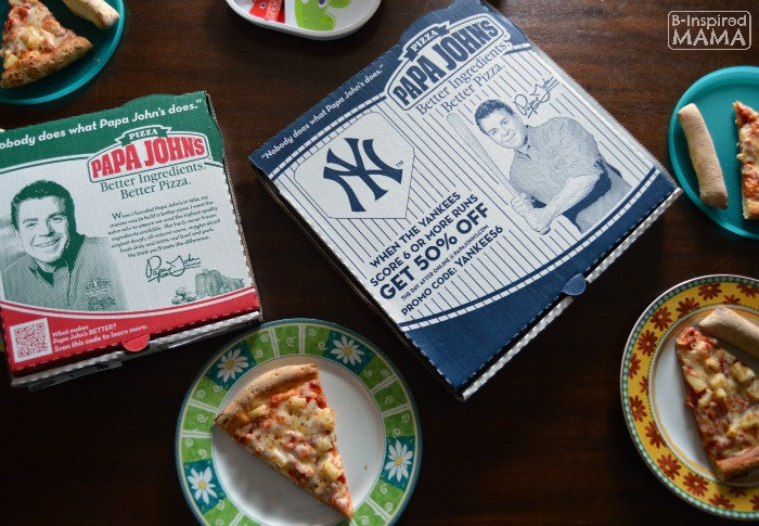 6 Family Home Evening Ideas + Making Them Easier with Papa Johns at B-Inspired Mama
