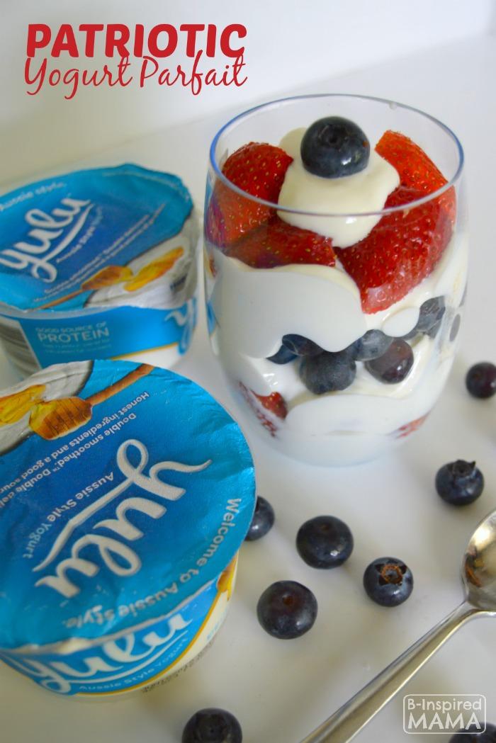 Simple Kids Patriotic Yogurt Parfait Recipe