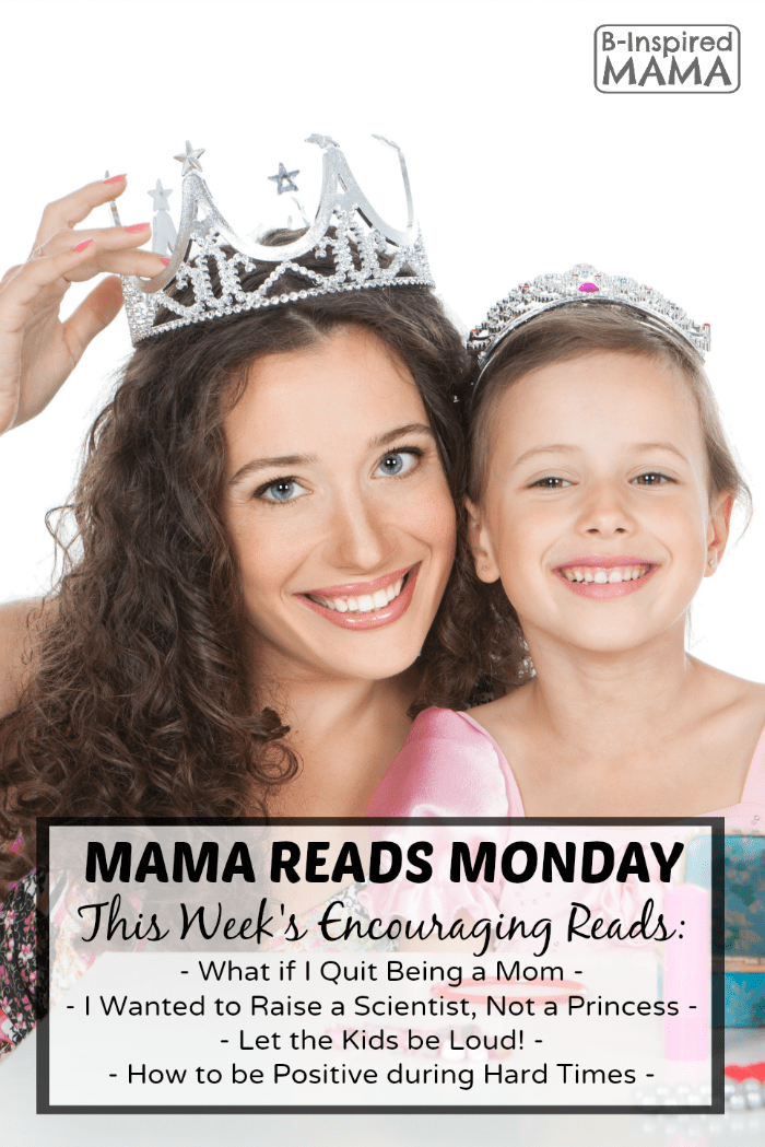 Mama Reads Monday - Quick and Encouraging Reads for Busy Moms at B-Inspired Mama
