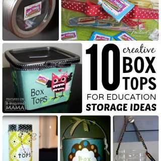 10 Creative Box Tops Storage Ideas