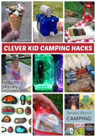 15 Clever Hacks for Camping with Kids - Sponsored by Banana Boat - B-Inspired Mama