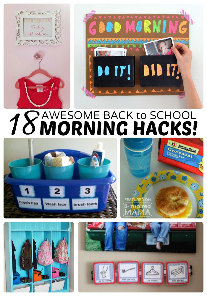 18 Back to School Morning Routine Hacks