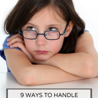 9 Ways to Handle Your Bored Kids