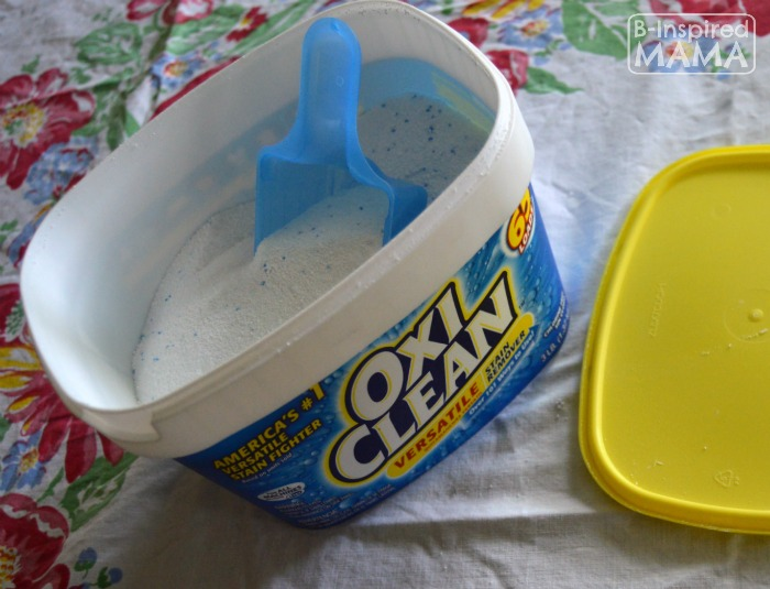 Laundrsy Hacks for Moms - Sponsored by OxiClean at B-Inspired Mama