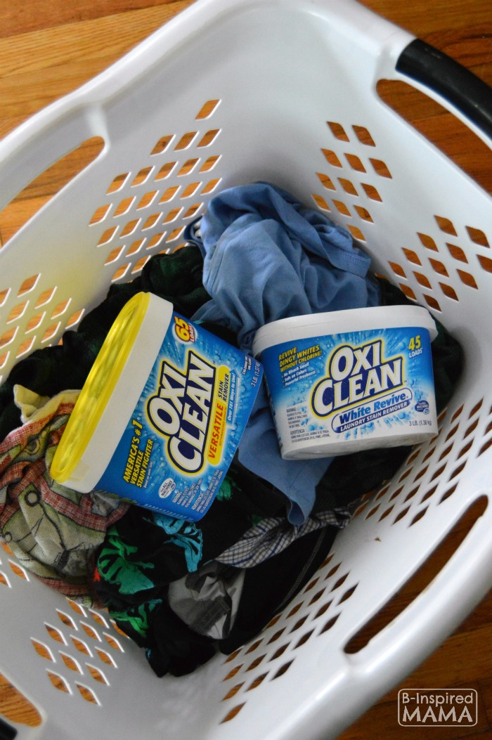 Real Life Laundry Hacks for Moms - Sponsored by OxiClean - B-Inspired Mama