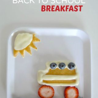 Sweet School Bus Back to School Breakfast