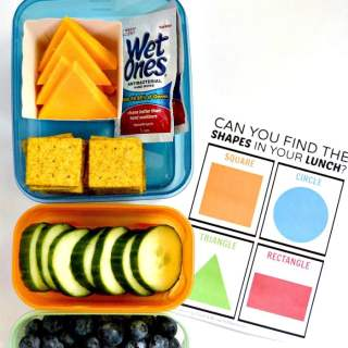 Can You Find the Shapes? Printable Lunch Box Game