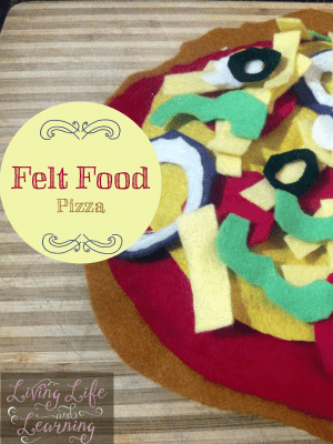 DIY Felt Food Pizza Craft