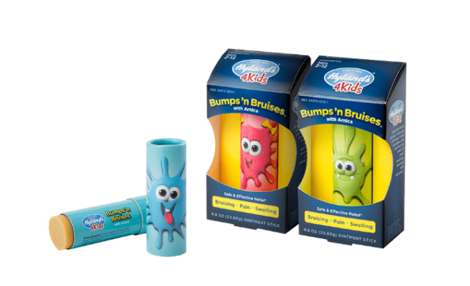 Hyland's 4 Kids New Homeopathic Bumps and Bruises Ointment Stick at B-Inspired Mama