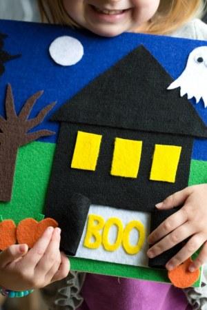 Felt Board Halloween Craft