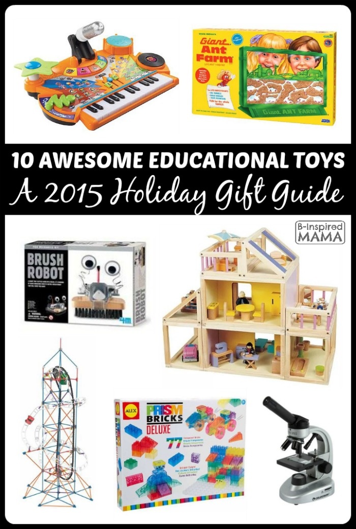 2015 Holiday Gift Guide: 10 Awesome Educational Toys
