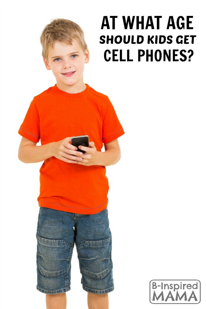 Things to Consider About Kids and Cell Phones