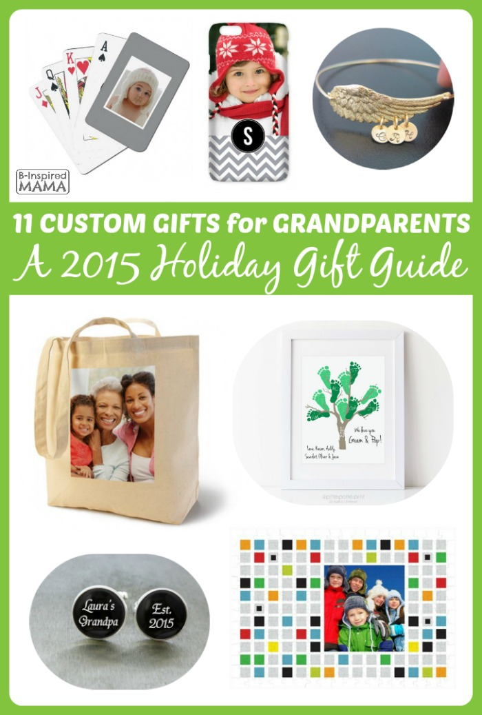 2015 Holiday Gift Guide: 11 Personalized Gifts for Grandparents