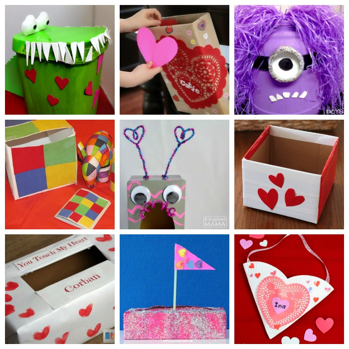 19 creative valentine box ideas for kids at b inspired mama - Kids Valentine Boxes