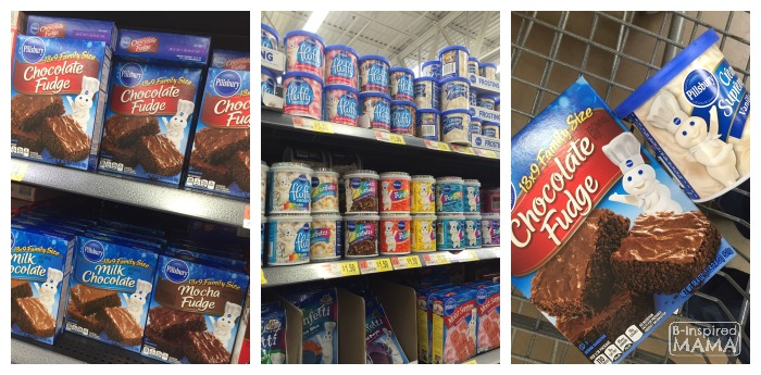 Shopping for Ingredients for our Football Brownie Cupcakes for Game Day - Our New Family Tradition - B-Inspired Mama