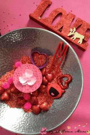 Valentine's Day Sensory Bin