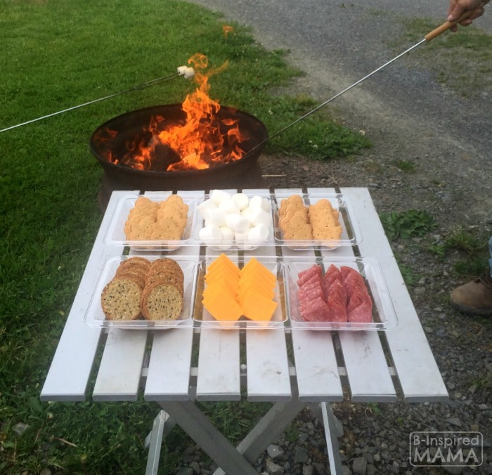 Delicious Maple Creme Cookie S'Mores + Making Sweet Summer Memories Camping - at B-Inspired Mama