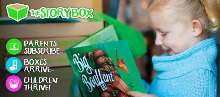 The Story Box for Kids + 9 MORE of the Best Subscription Boxes for Curious Kids