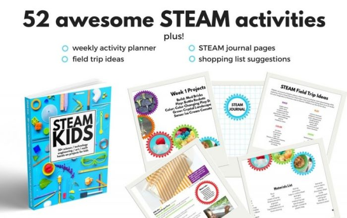 52 Awesome STEAM Activities in STEAM Kids