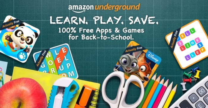 Amazon Underground - Perfect for Kids Chore Rewards