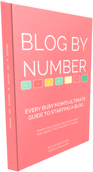 Blog by Number + the easiest way to start a blog - in only 4 simple steps - at B-Inspired Mama