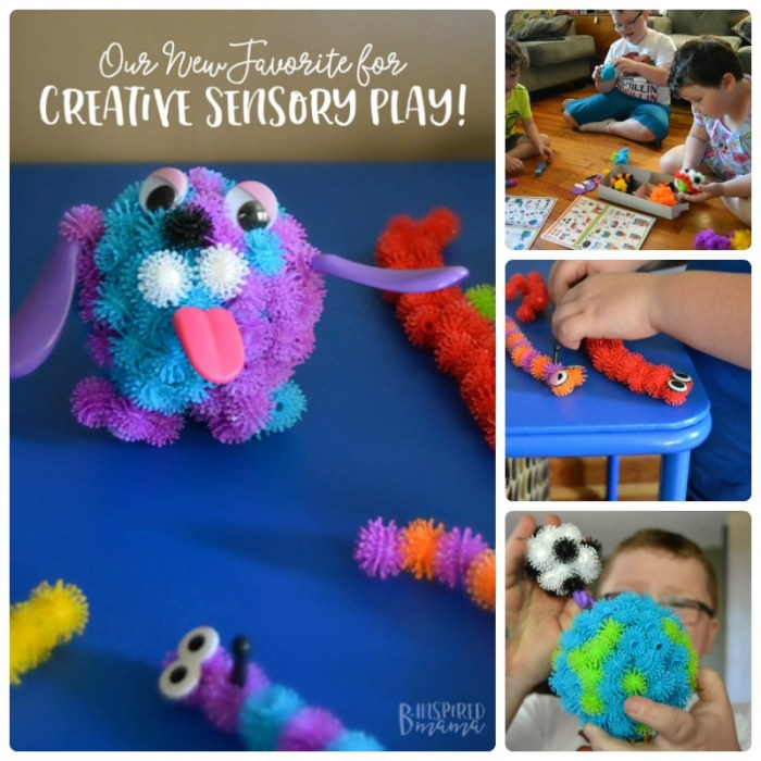 Encourage creative play with kids with this new sensory favorite - at B-Inspired Mama