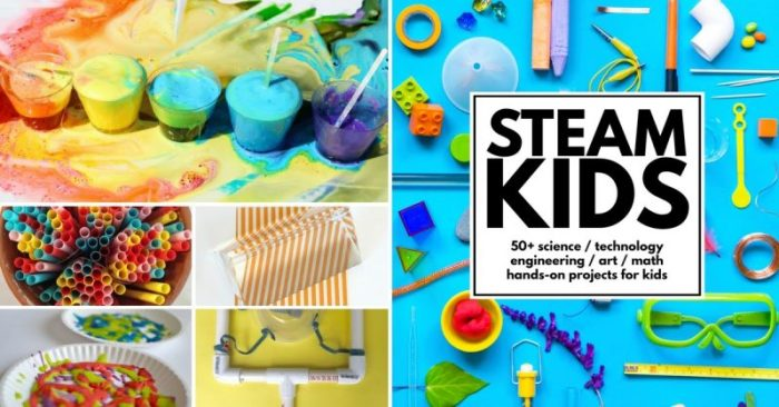 STEAM Kids - a book of STEAM Activities